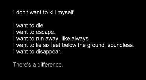i feel like killing myself all the time