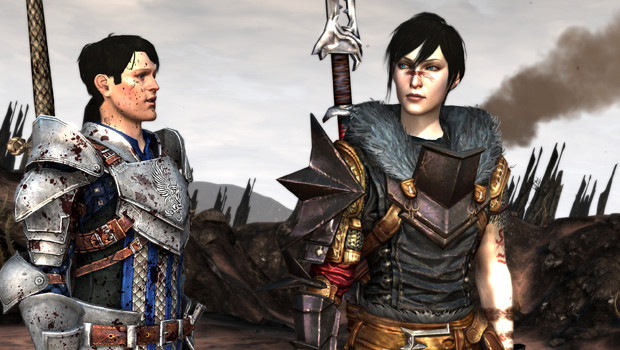 carver and female hawke