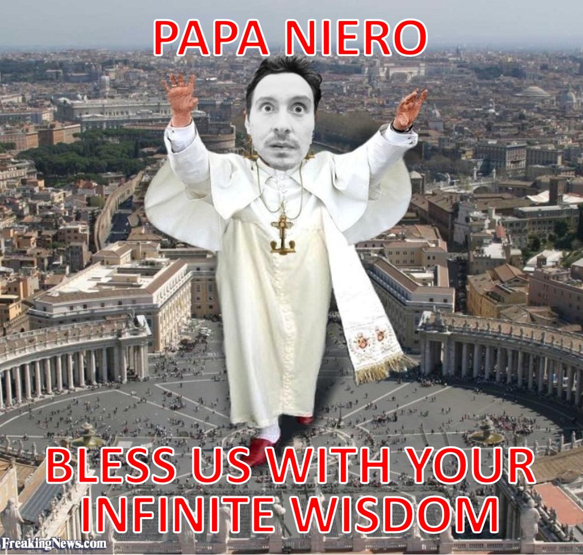 Bless us Papa Niiero