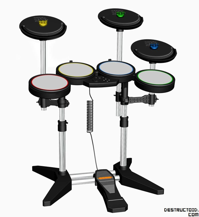 We spend $30 on Mad Catz's Rock Band cymbals so you don't