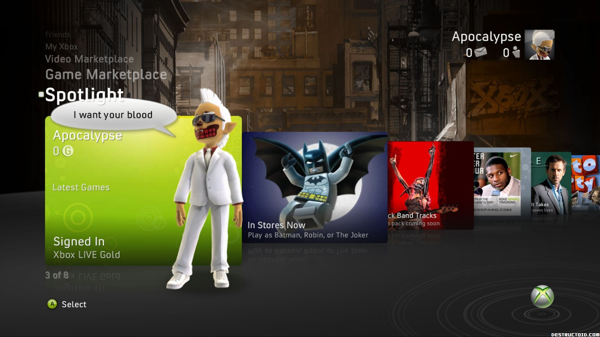 Download free xbox live gamer pictures 100