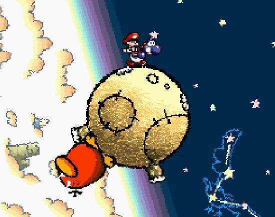 Yoshi's Island Raphael moon