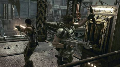 resident evil 5 how to get infinite ammo