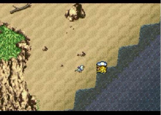 Final Fantasy VI after the suicide