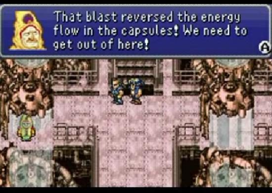 Final Fantasy VI Cid saves the day