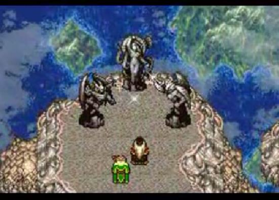 Final Fantasy VI floating continent