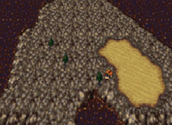 Final Fantasy VI solitary island