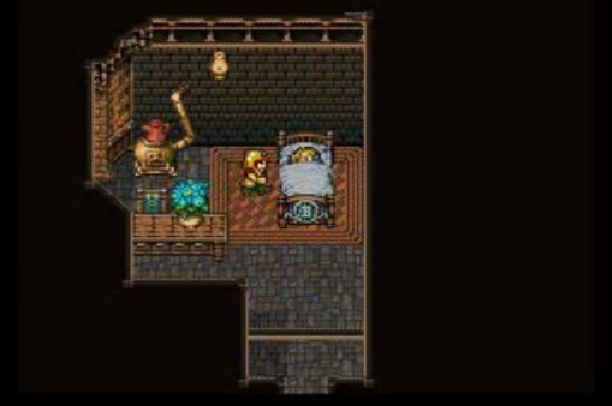 Final Fantasy VI Celes and Cid