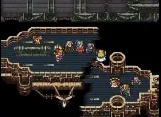 Final Fantasy VI end of the world