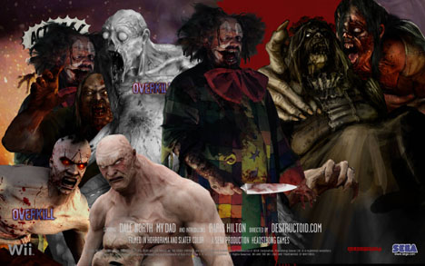 House Of The Dead Overkill Online Poster Creator