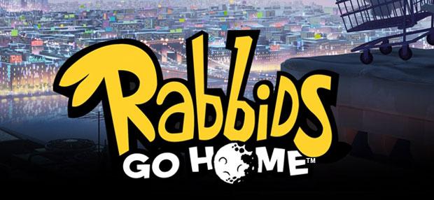 Rabbids Go Home gives Rabbid logo a new look