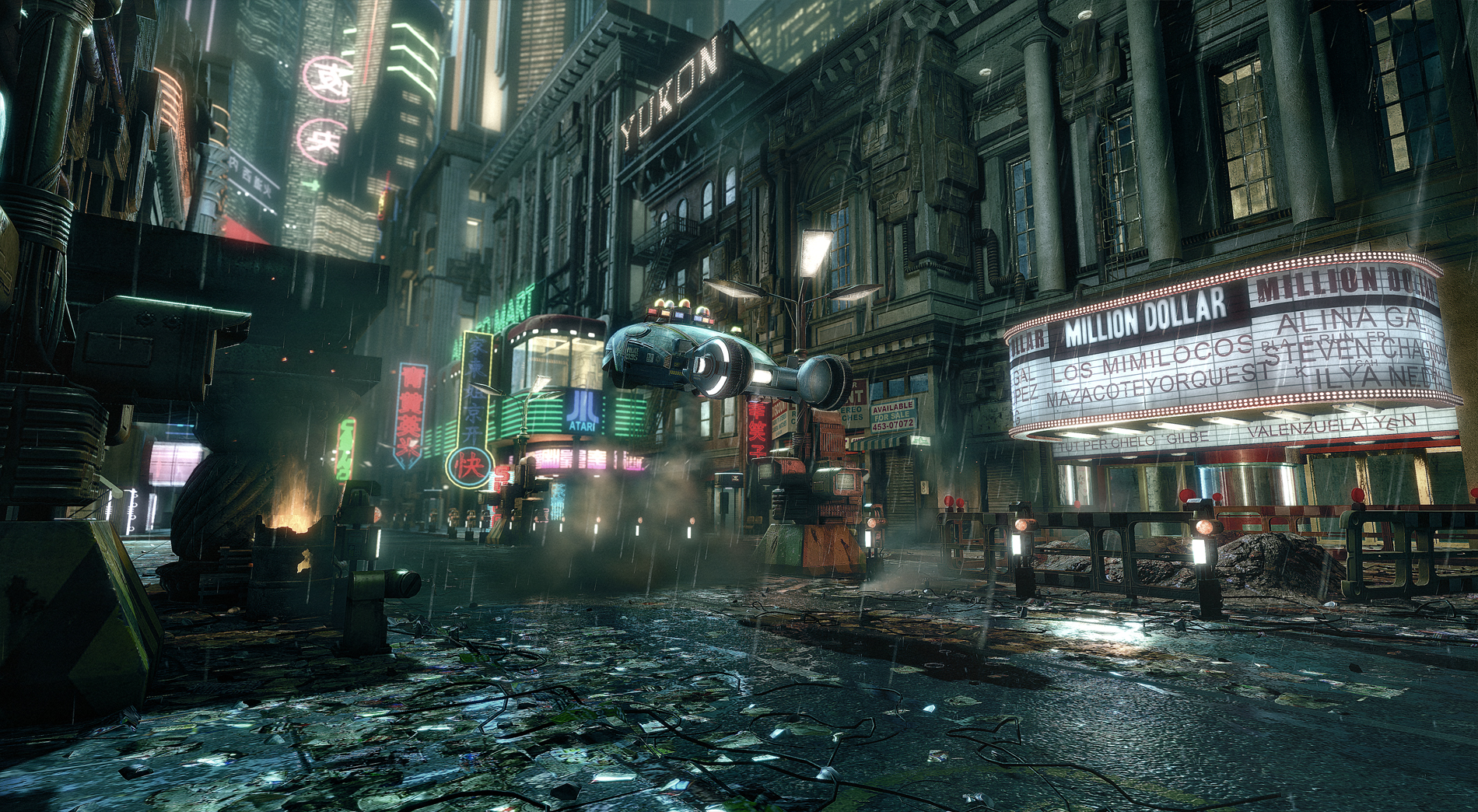 Blade Runner and more recreated using cryENGINE 2 - photo#22