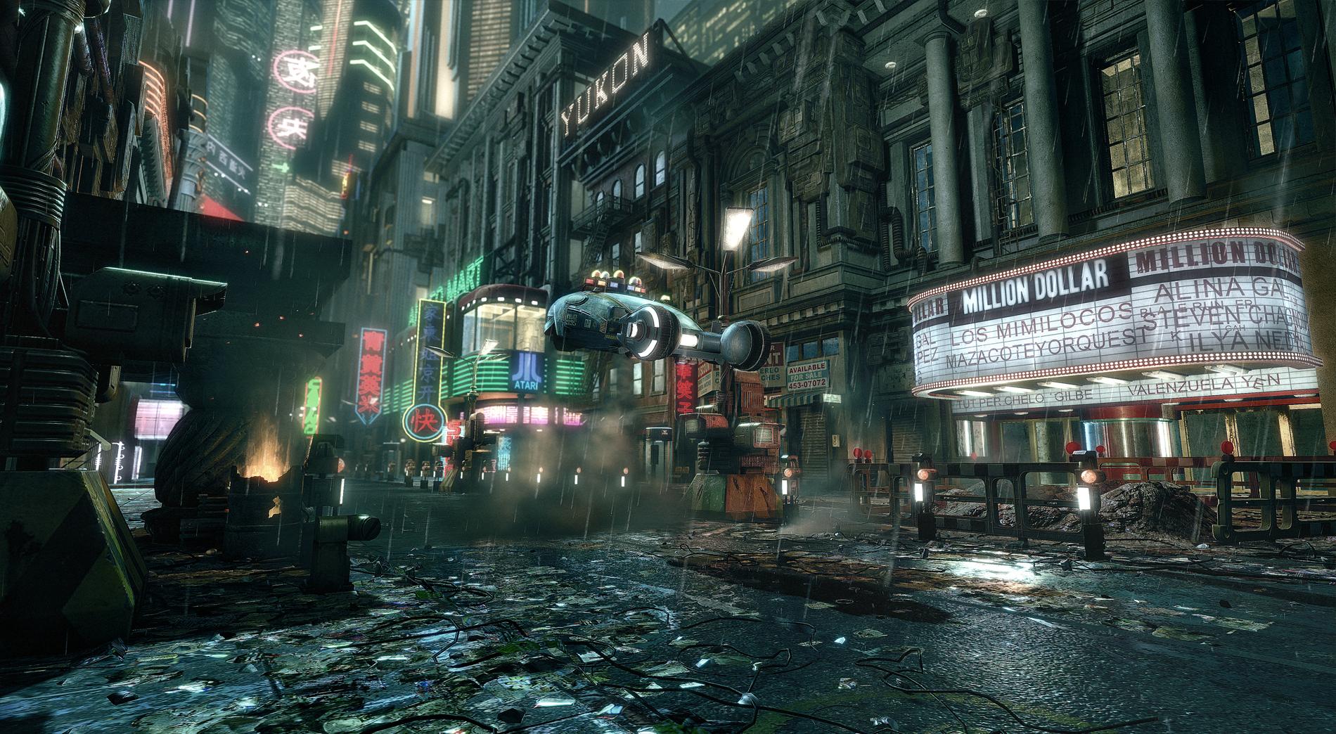 Blade Runner and more recreated using cryENGINE 2 - photo#22