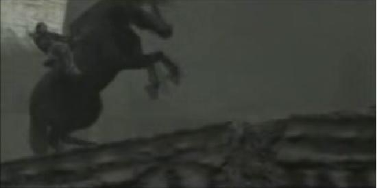 Shadow of the Colossus bridge collapse