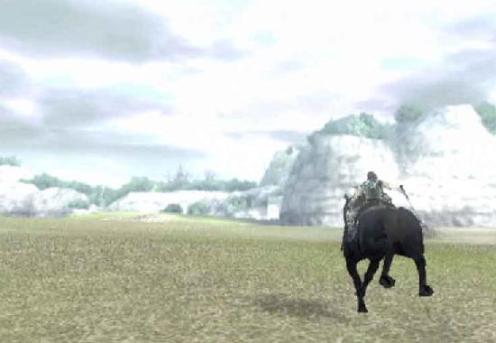 Shadow of the Colossus open world