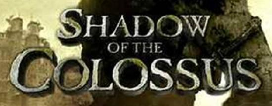 Shadow of the Colossus title screen