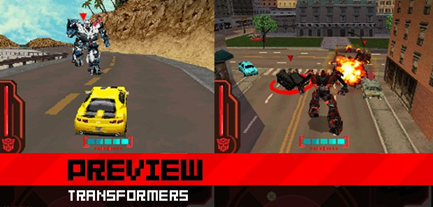 Grand Theft Auto On Vita : Preview transfomers revenge of the fallen ds