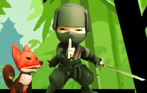 Mini Ninja Girlلعبة القتال الخاص بالبنات