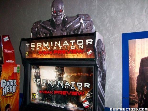 New Terminator arcade ...