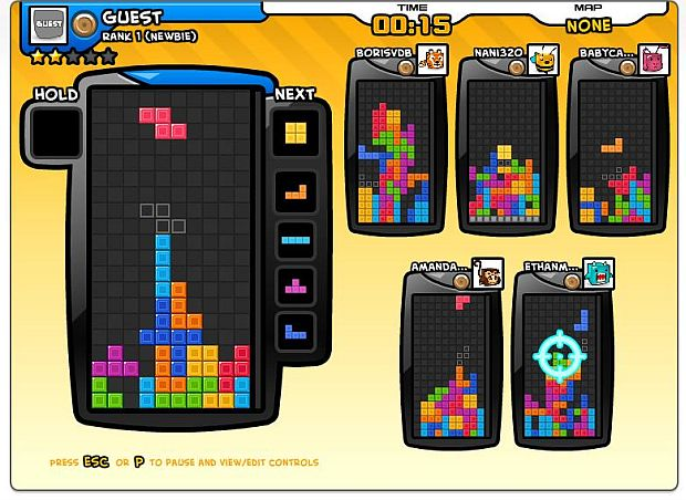 tetris online play