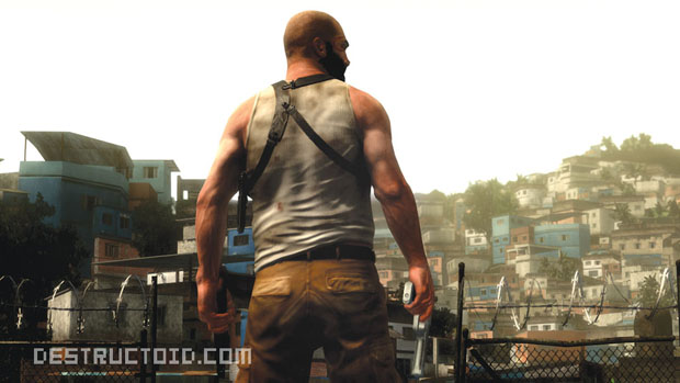 First Max Payne 3 Screenshots Reveal Dirtiest T Shirt Ever
