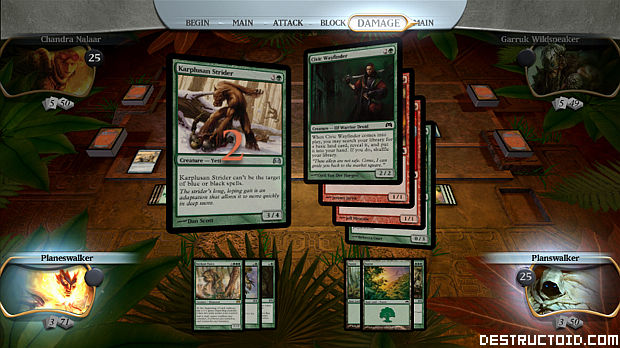 Review magic the gathering duels of the planeswalkers - Magic the gathering game table ...