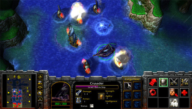 Venturing into the insane world of warcraft iii mods battle ships shows just how versatile the warcraft iii map editor is i imagine some brilliant guy played defense of the ancients and thought hey gumiabroncs Choice Image