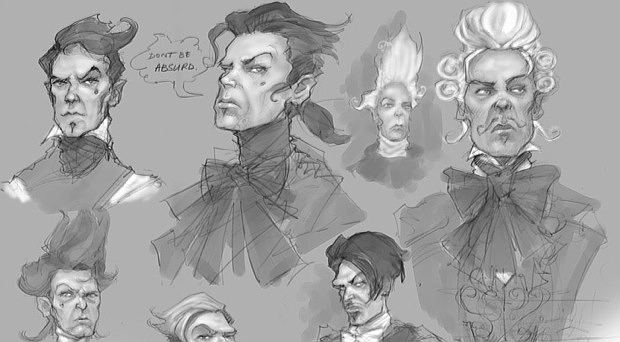 Reaver Fable 3. Fable II Reaver concept art