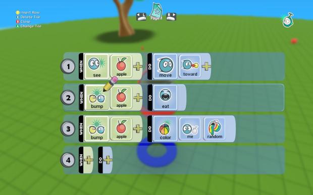 kodu game lab make a game