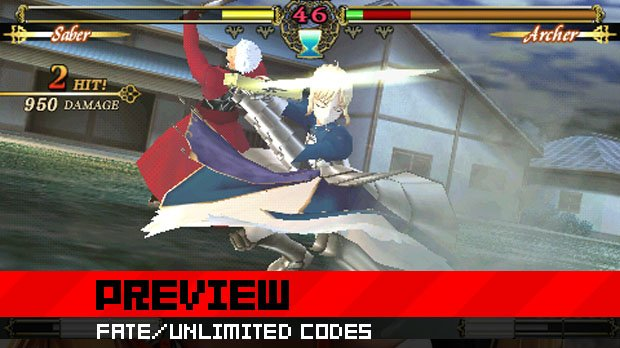 Preview: Fate/Unlimited Codes photo