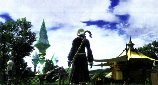 Final Fantasy XIV screens look like...FF XI screens photo