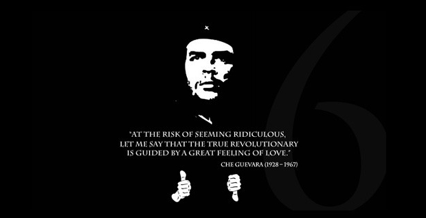Che Guevara Murderer http://www.destructoid.com/che guevara takes over