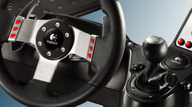 logitech announces pimp new g27 racing wheel. Black Bedroom Furniture Sets. Home Design Ideas