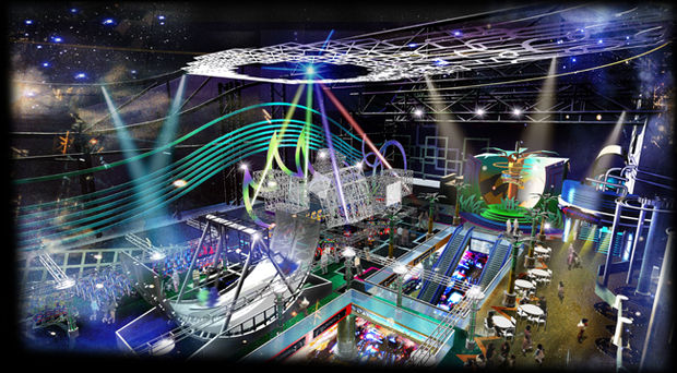 Sega Indoor Theme Park Opens In Dubai