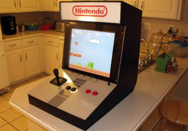 Build Your Own NES Mini Arcade Cabinet And Win At Life
