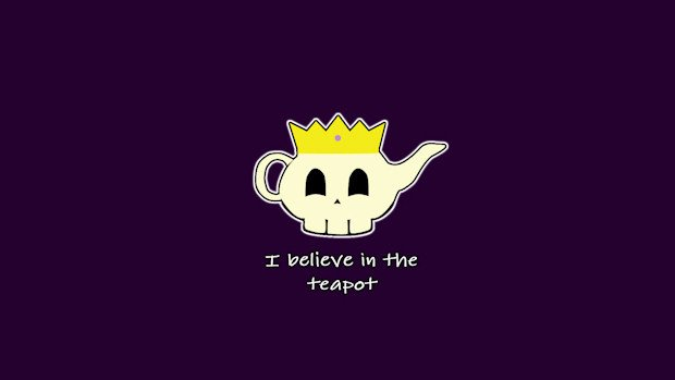 Do YOU believe in the teapot? photo