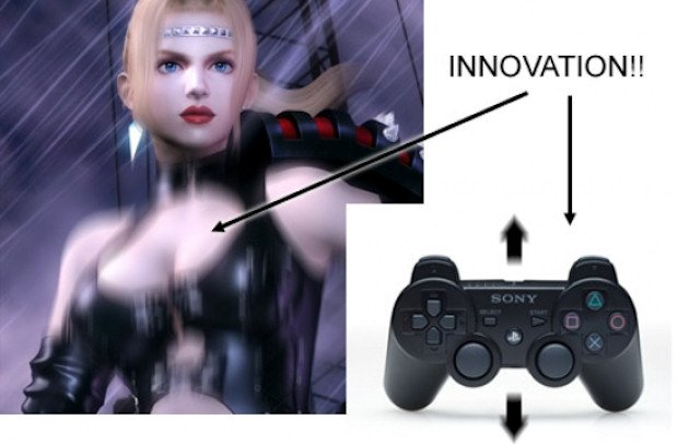 Ninja Gaiden Sigma 2 features SIXAXIS-controlled breasts photo