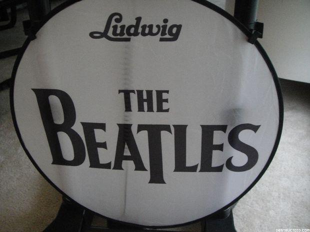 The Beatles: Rock Band Limited Edition bundle dwarfs my cat