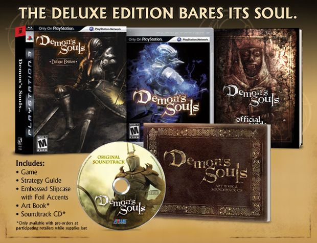 Sports Games For Ps3 : Demon s souls deluxe edition is pretty incredible