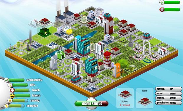 Sim City meets Tetris in indie game City Rain