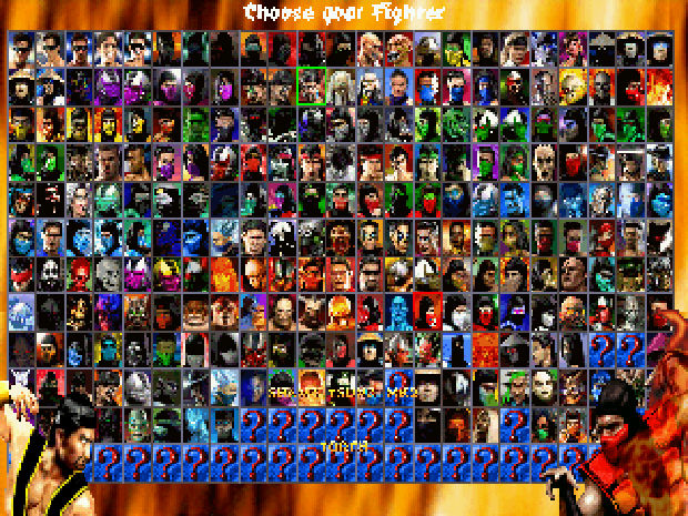 mortal kombat characters list. Mortal Kombat