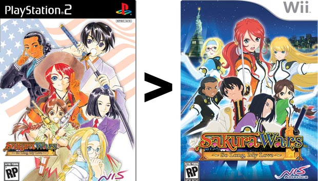 Confirmed: Sakura Wars is blatantly better on the PS2 photo