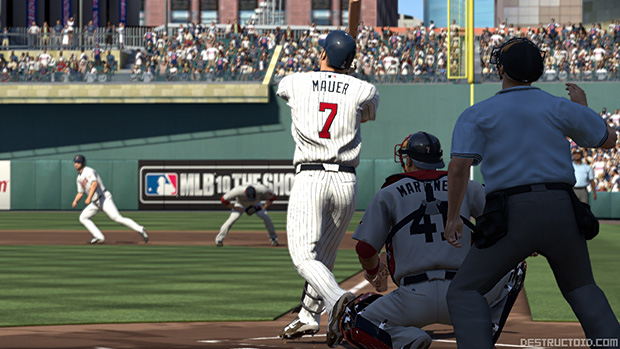 AL MVP Joe Mauer is the MLB 10 The Show cover athlete photo