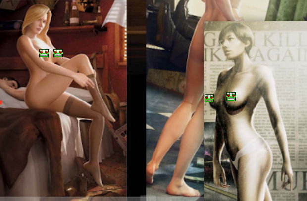 Playboy's annual Girls of Videogames 2010 spread photo