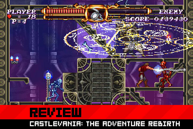 review  castlevania  the adventure rebirth