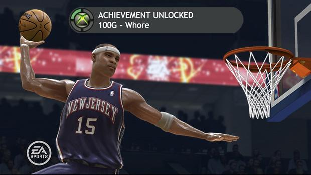 Achievement whores giving NBA Live 07 a final shot