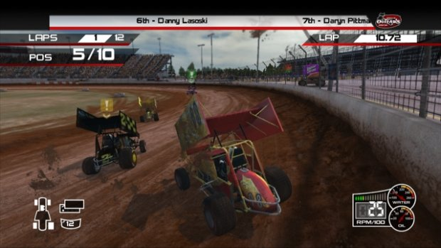 Thq Reviving World Of Outlaws Sprint Cars Series