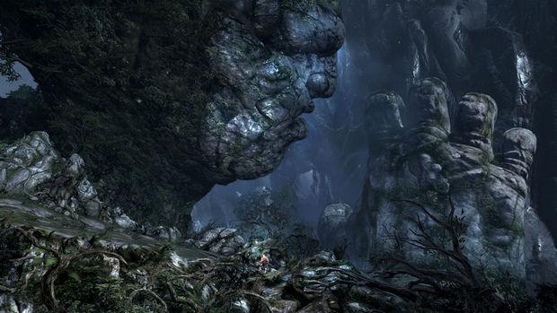 God of War III's Titan gameplay drops jaws