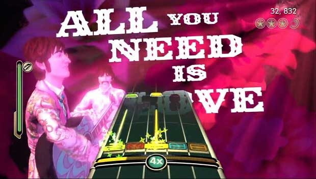 Beatles: RB 'All You Need Is Love' DLC dated for Wii, PS3