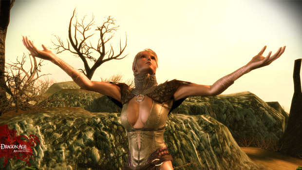 dragon age velanna. Dragon Age: Awakening: Meet Velanna and her army of Ents screenshot